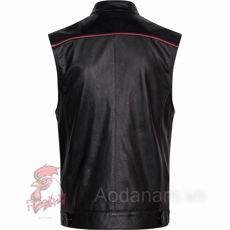Ao da biker 22 of 52 áo da thật , áo da nam