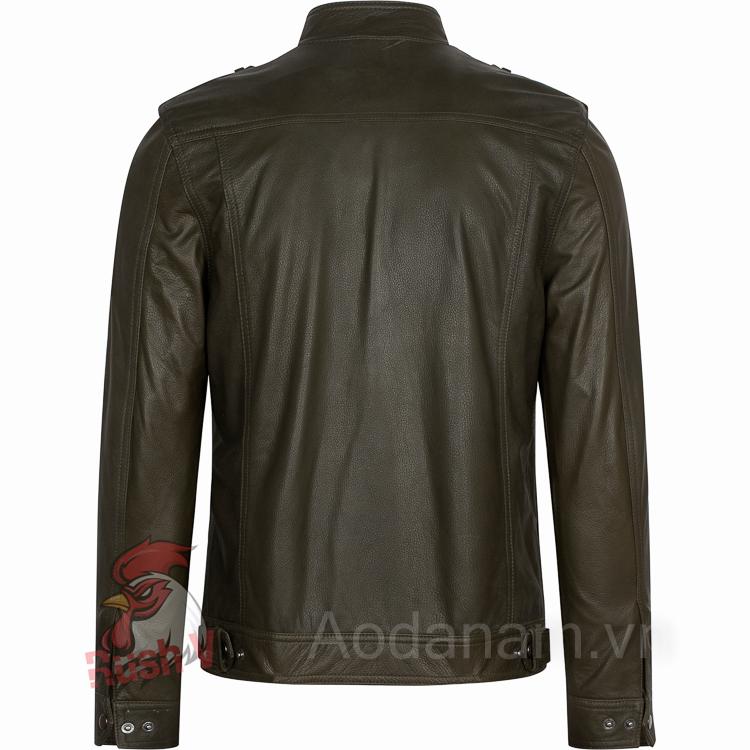Ao da biker 36 of 52 áo da thật , áo da nam