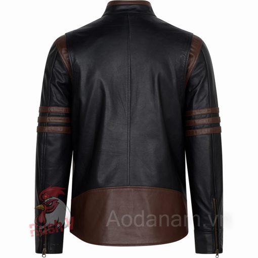 Ao da biker 4 of 52 Áo da nam, áo da thật