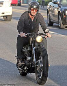 Áo da motocycle
