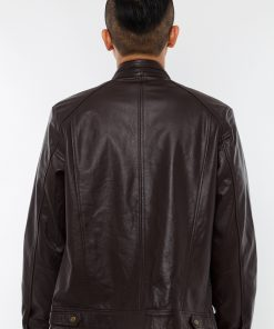 CCF0003 0012 3 Áo da nam, áo da thật