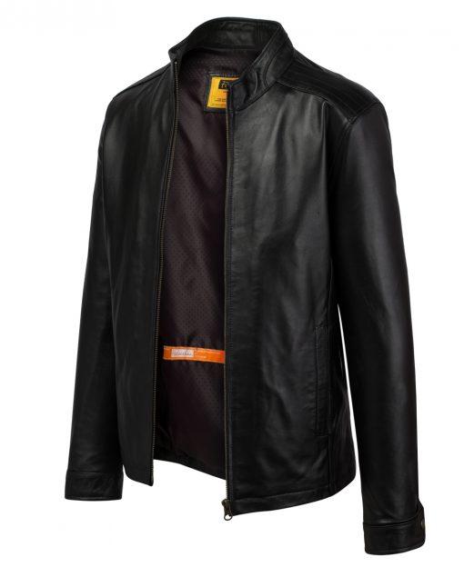 2005C41320S 2 Áo da nam, áo da thật