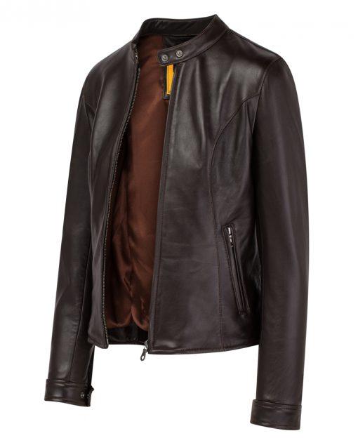 M04C411220 3 Áo da nam, áo da thật